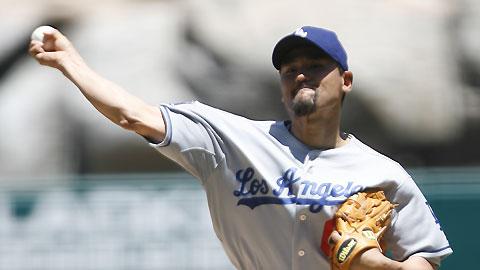 [사진=MLB.com] 다저스 시절의 박찬호