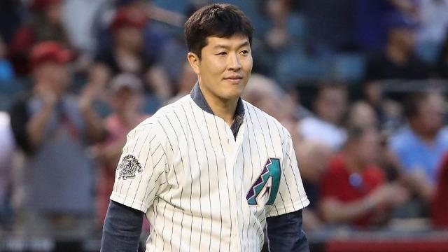 [사진=MLB.com] 2018년 시구를 했던 김병현