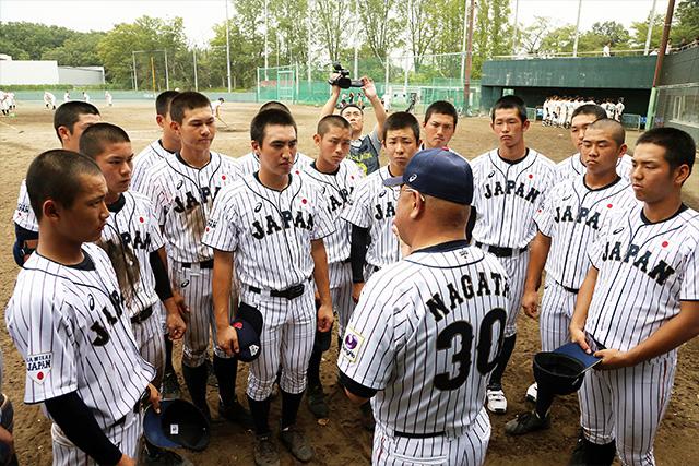[사진=사무라이 재팬] * 일본 U-18 연습 경기