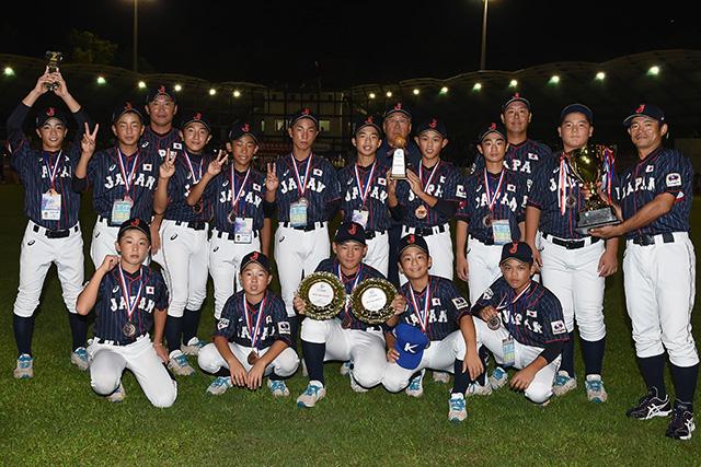 [사진=사무라이 재팬] * 일본 U-12 동메달 획득