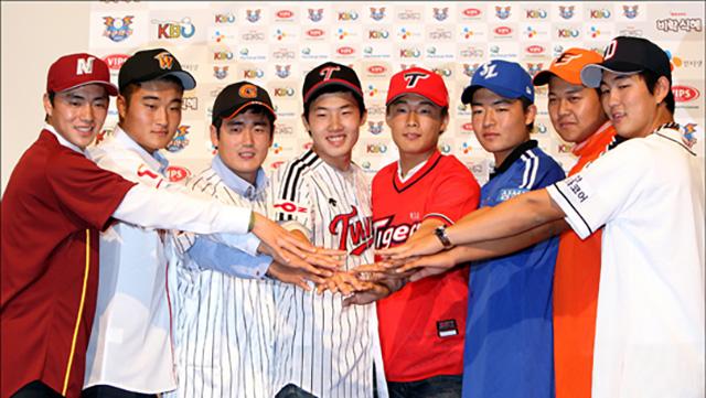 [사진=KIA 타이거즈 제공] *각 팀 1차 지명자 SK만 2차지명자인 당시 김민식(지금은 김주원)