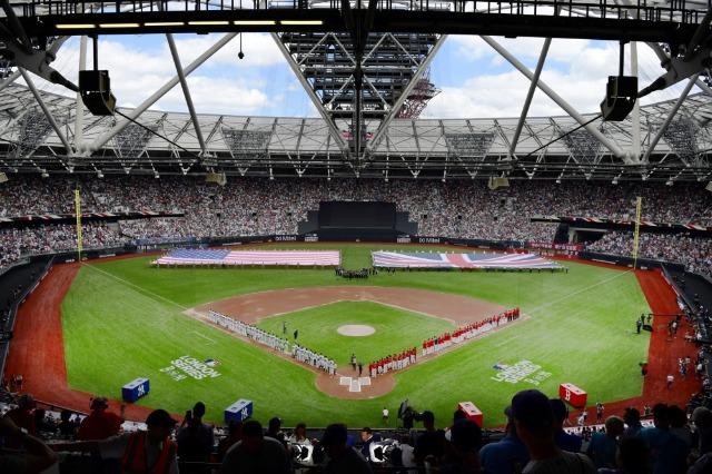 [사진=MLB.com] 지난해 양키스와 레드삭스의 런던 시리즈